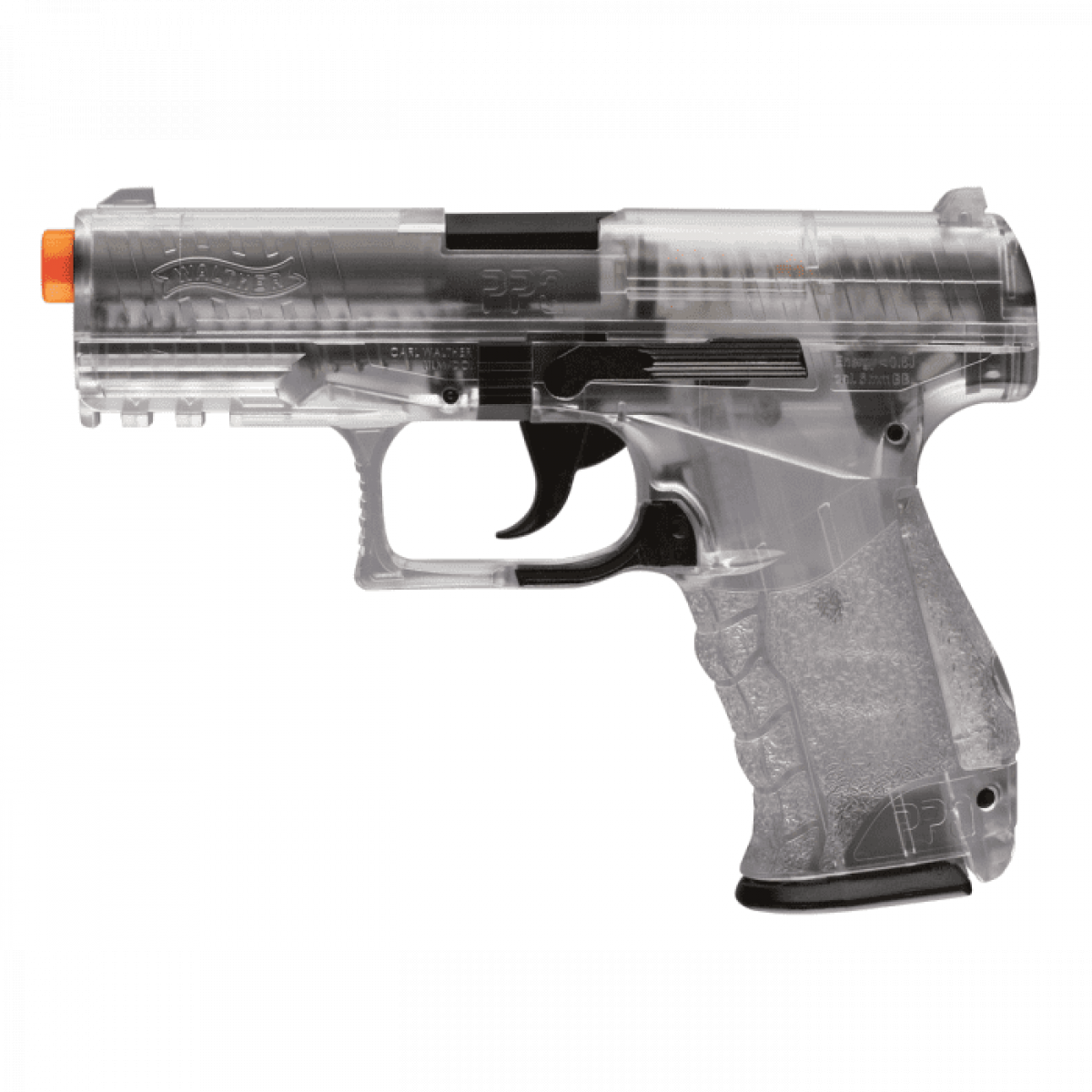 Umarex Walther PPQ Special Operations Airsoft Spring Pistol starter- Clear
