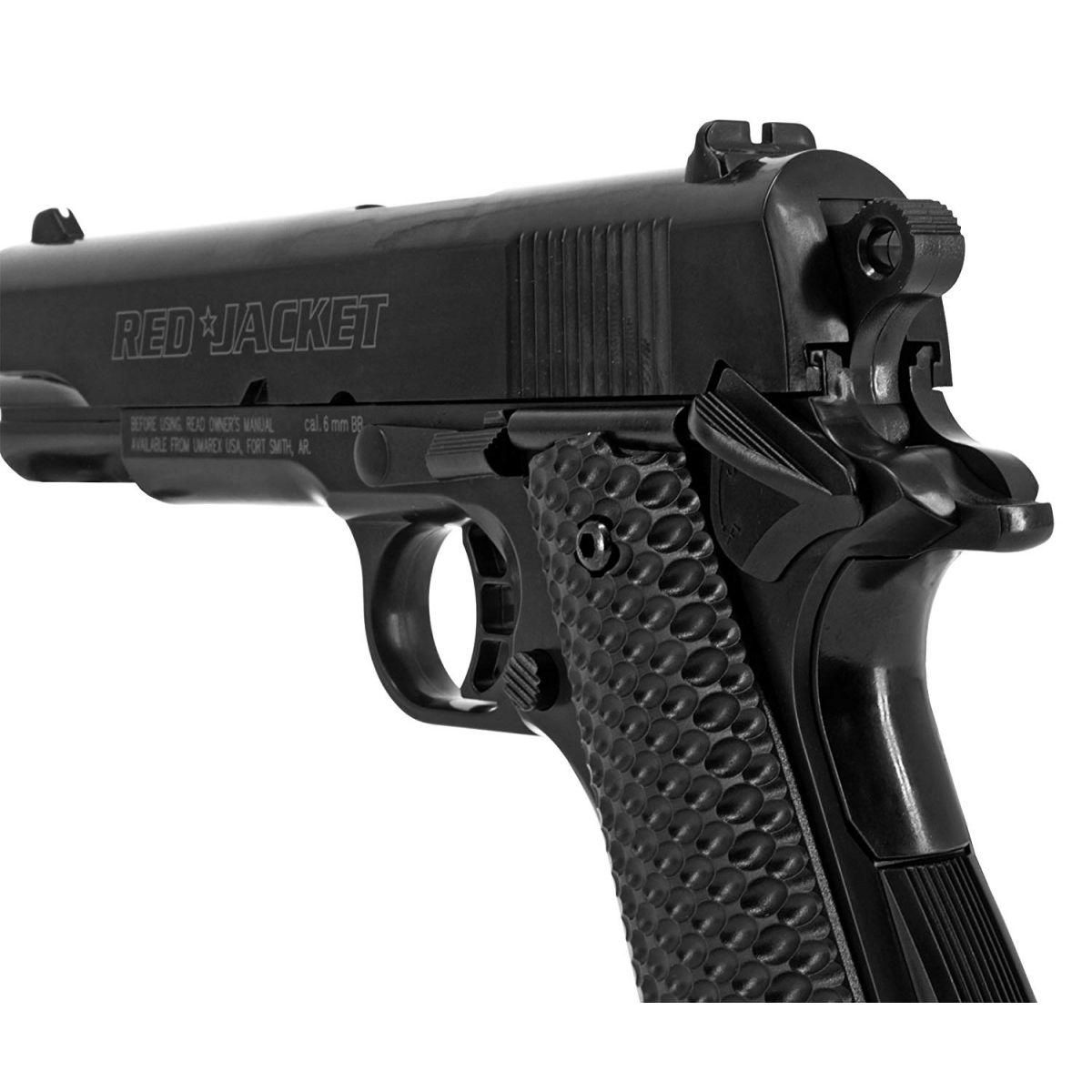Umarex Red Jacket M1911 6mm Airsoft Spring Pistol rear