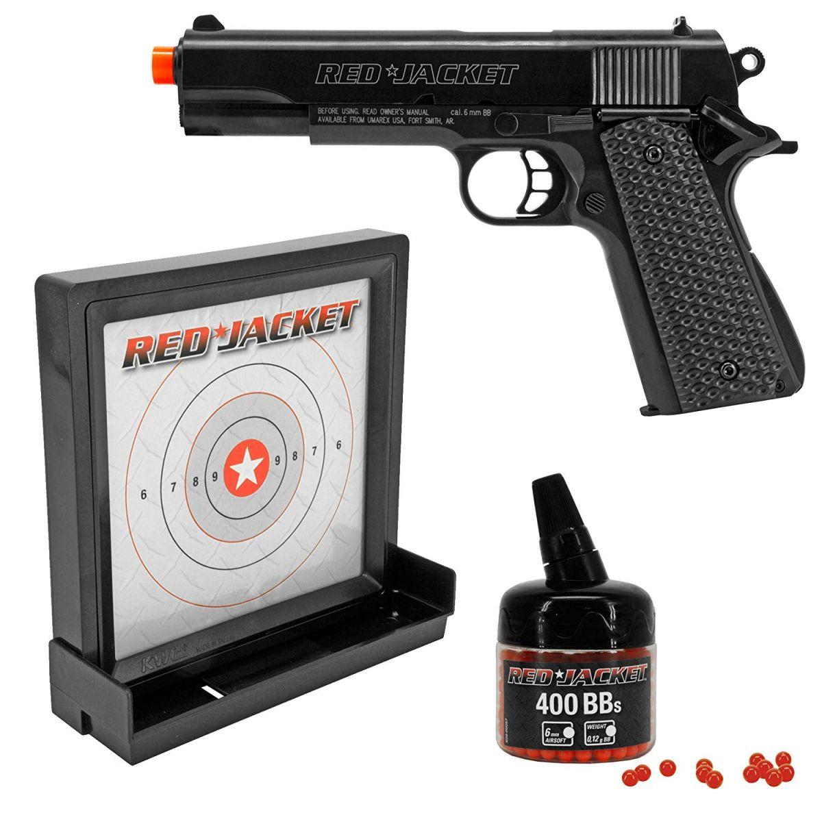 Umarex Red Jacket M1911 6mm Airsoft Spring Pistol Target