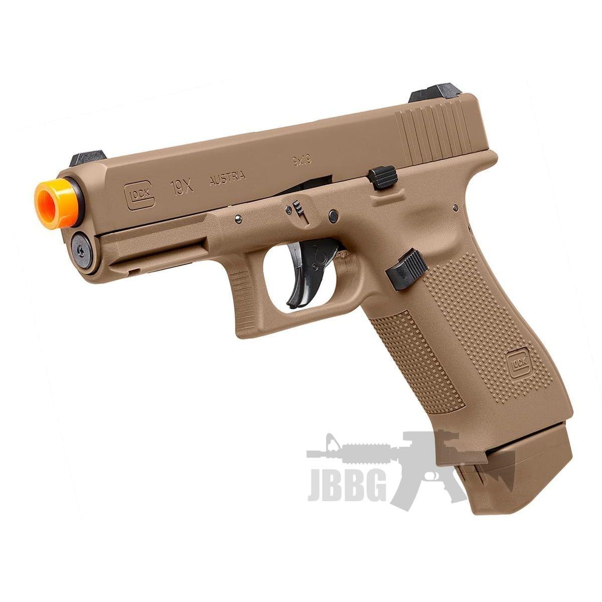 glock tan 19x pistol
