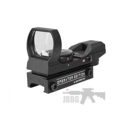 Full Metal Machine Precision – AIM Sports Dual Illuminated Panorama Red Dot Scope