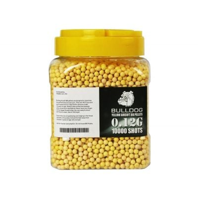 Bulldog 10000 Airsoft BB 0.12g Yellow
