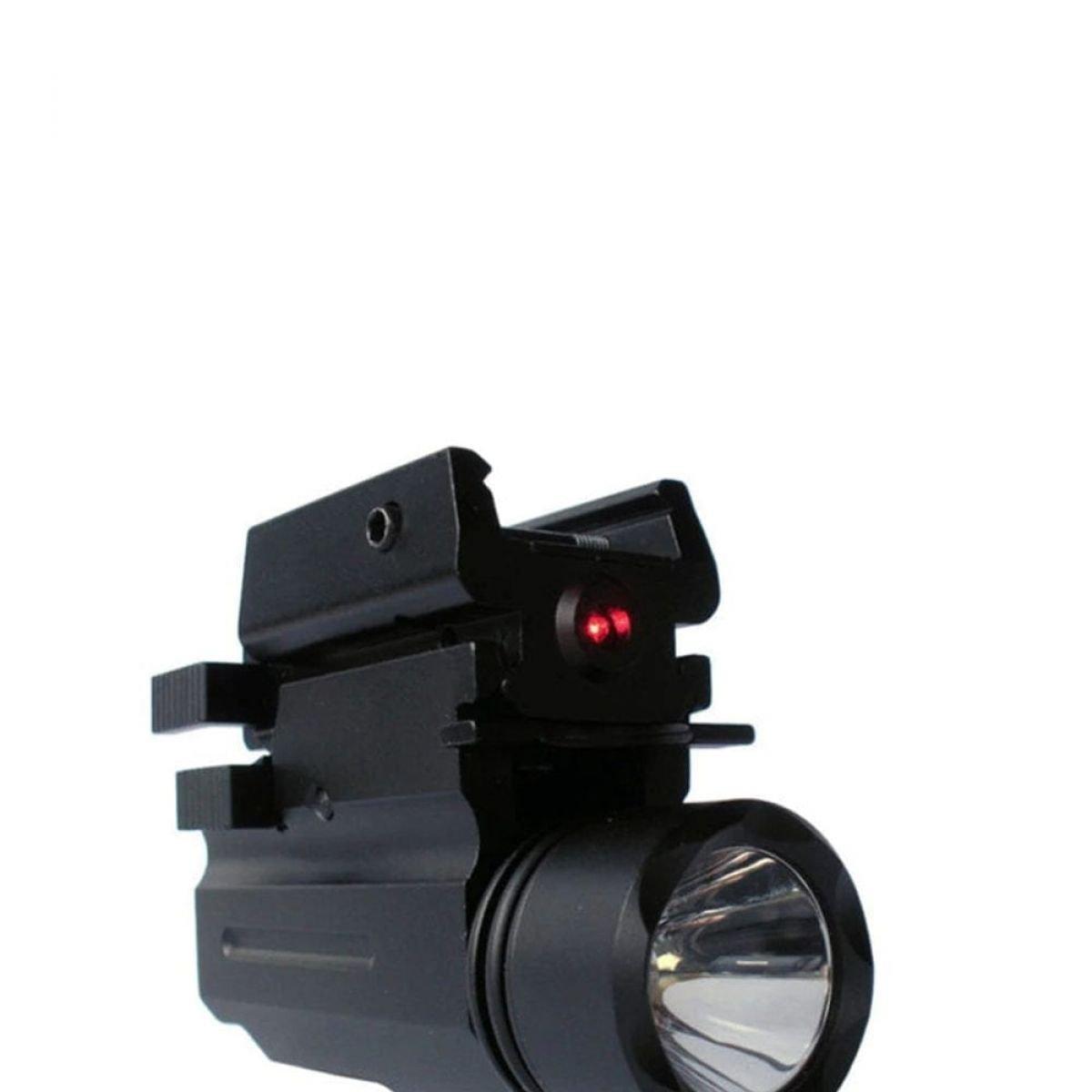 laser sight flash light gun accessory