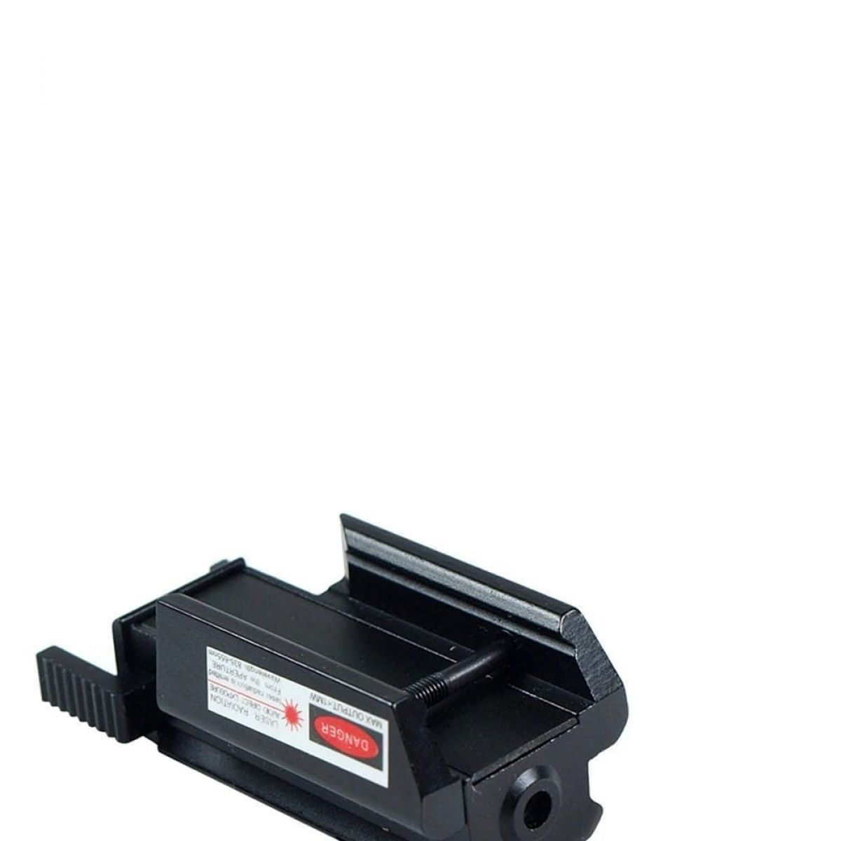laser flashlight metal rail fix mount easy