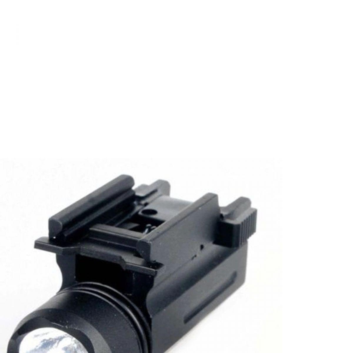 laser flashlight metal rail fix mount good