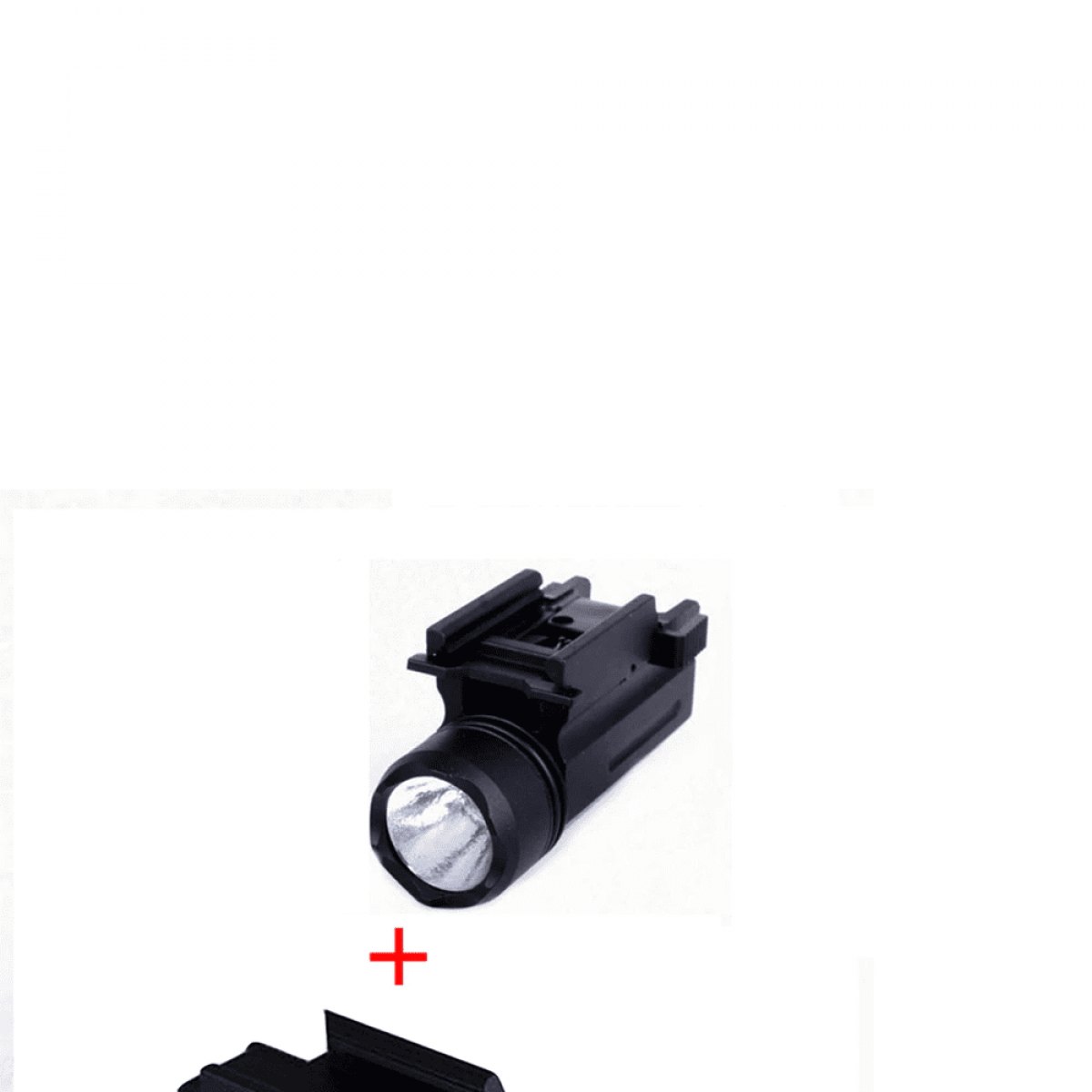 Airsoft Full Metal 2 in 1 Laser Sight and Flashlight for 20mm Picatinny rails w/Quick Detach