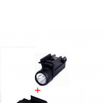 Airsoft Full Metal 2 in 1 Laser Sight and Flashlight for 20mm Picatinny rails 5