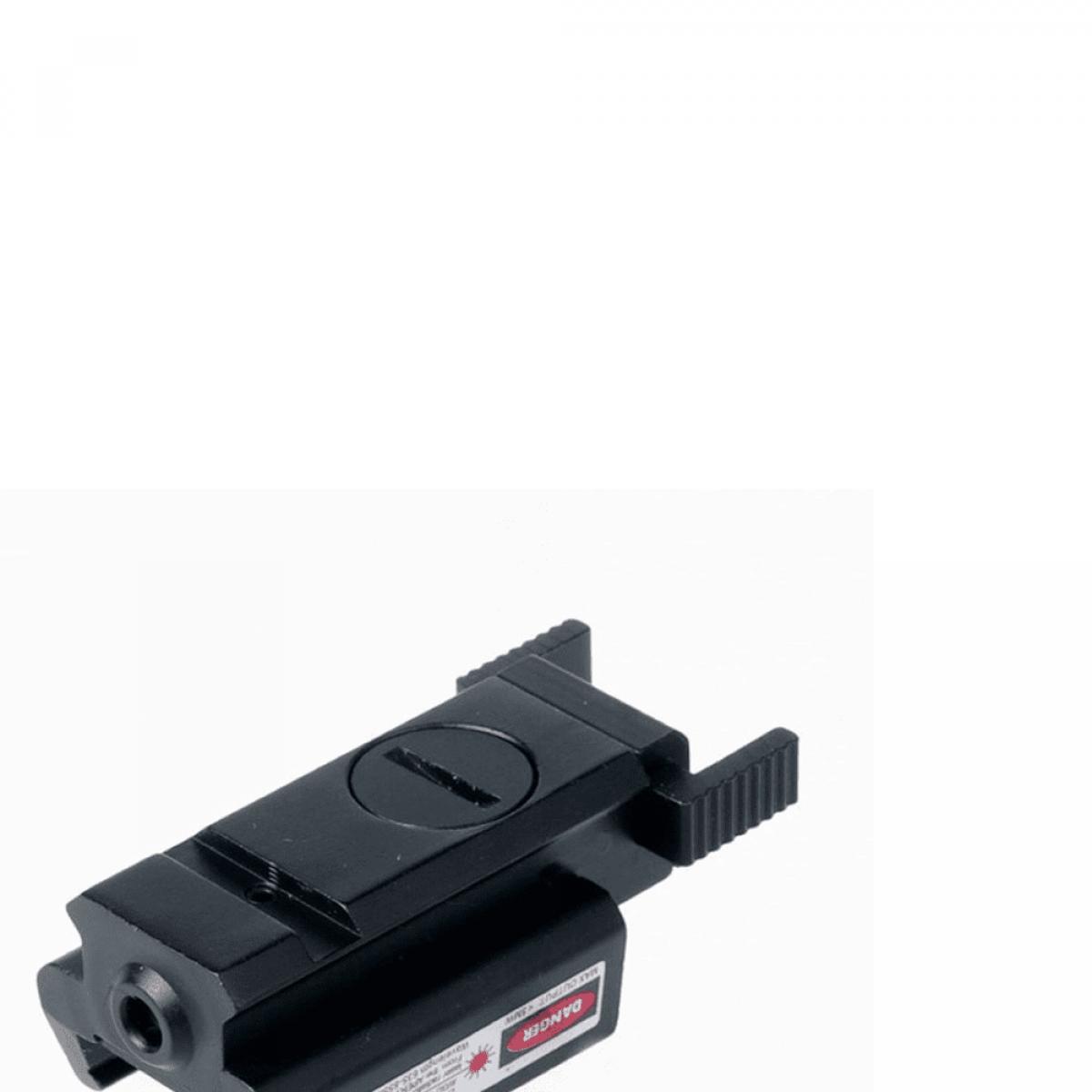 laser flashlight metal rail fix mount