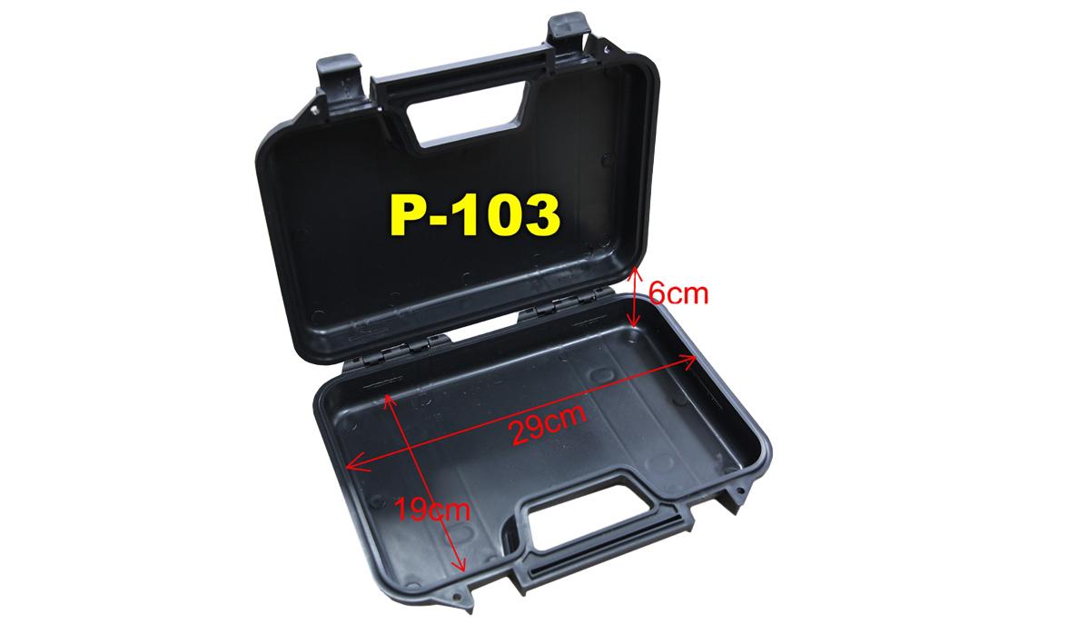 Single Pistol Case – Secure Premium Hard Plastic Gun Case