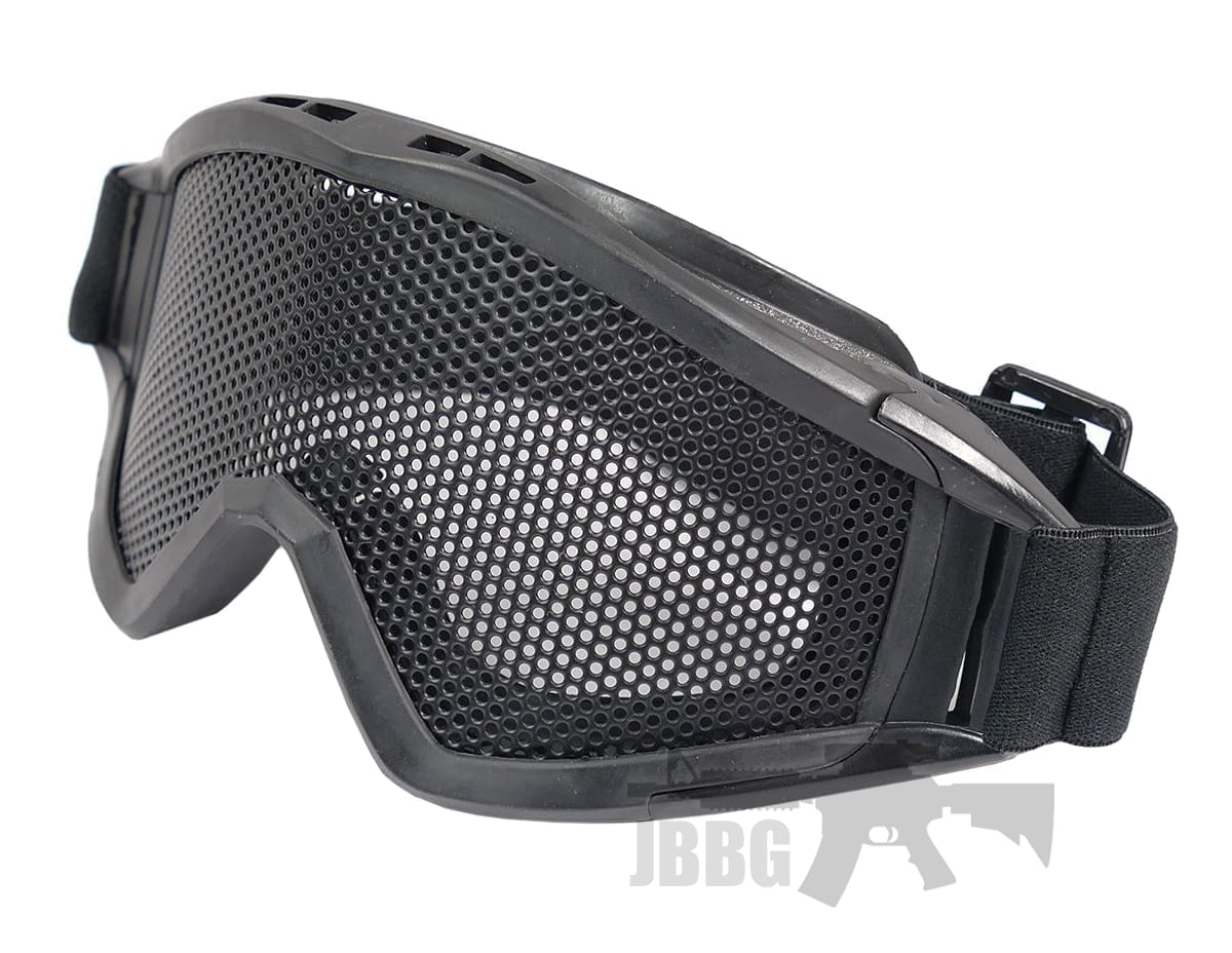 Big Airsoft Goggles Black MA04BK