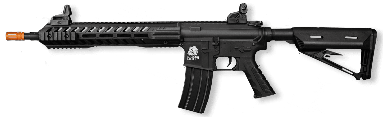 bulldog airsoft rifle aeg electic fps powerful