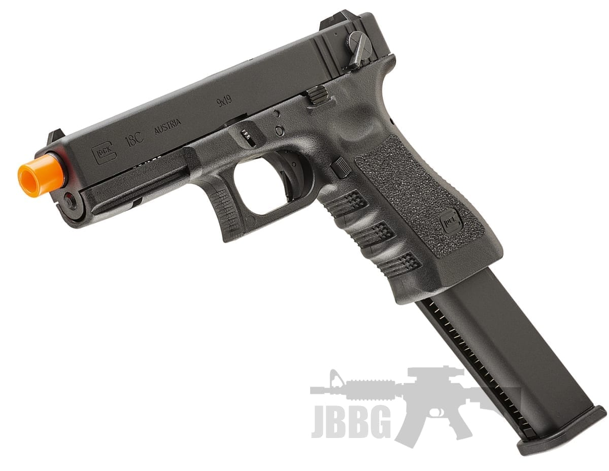 Umarex Glock G18C Gen3 Airsoft Gas Blowback Semi/Full Auto Pistol – 6MM