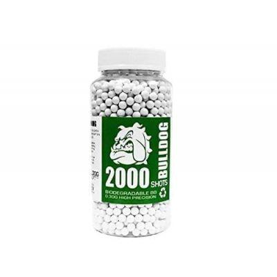 Bulldog 2000 Airsoft Pellets 0.30g Biodegradable