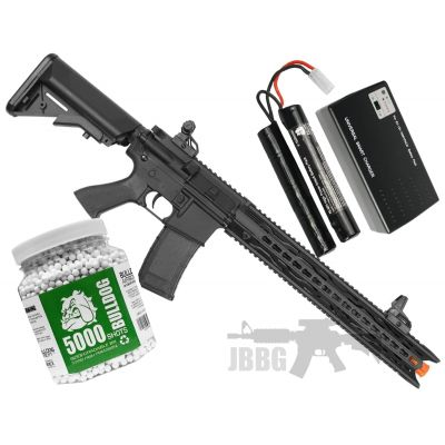 Bulldog ST Mamba P2 AEG Airsoft Bundle Set 1