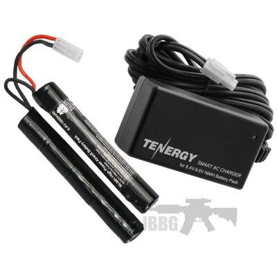 Airsoft Smart Charger and 9.6V Battery Set