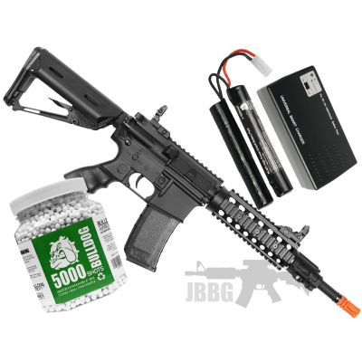 Bulldog ST Beta AEG Airsoft Bundle Set 1