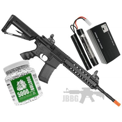 Bulldog ST Delta AEG Airsoft Bundle Set 1