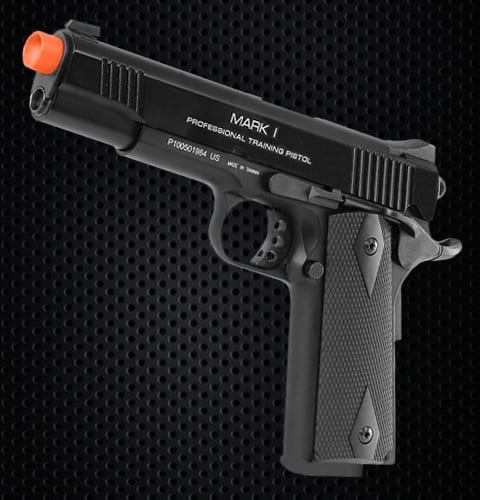 kwa 1911 mark1 airsoft pistol