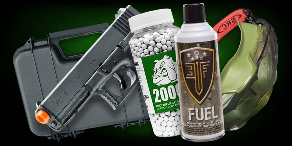 airsoft pistol bundle sets