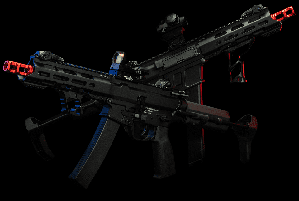 kwa aeg qrf airsoft guns