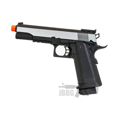 SRC Hi-Capa 5.1 Dual Tone Co2 Blowback Airsoft Pistol Matte Finish – 6MM