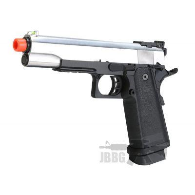 SRC Hi-Capa 5.1 Silver Co2 Blowback Airsoft Pistol – 6MM