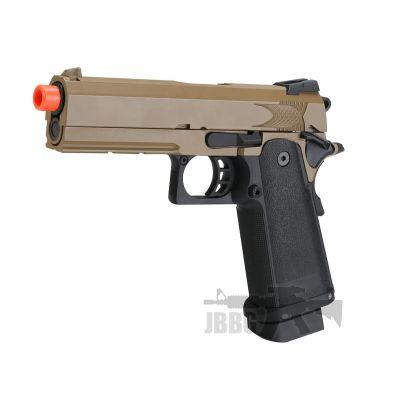 SRC Hi-Capa 4.3 Desert Co2 Blowback Airsoft Pistol – 6MM