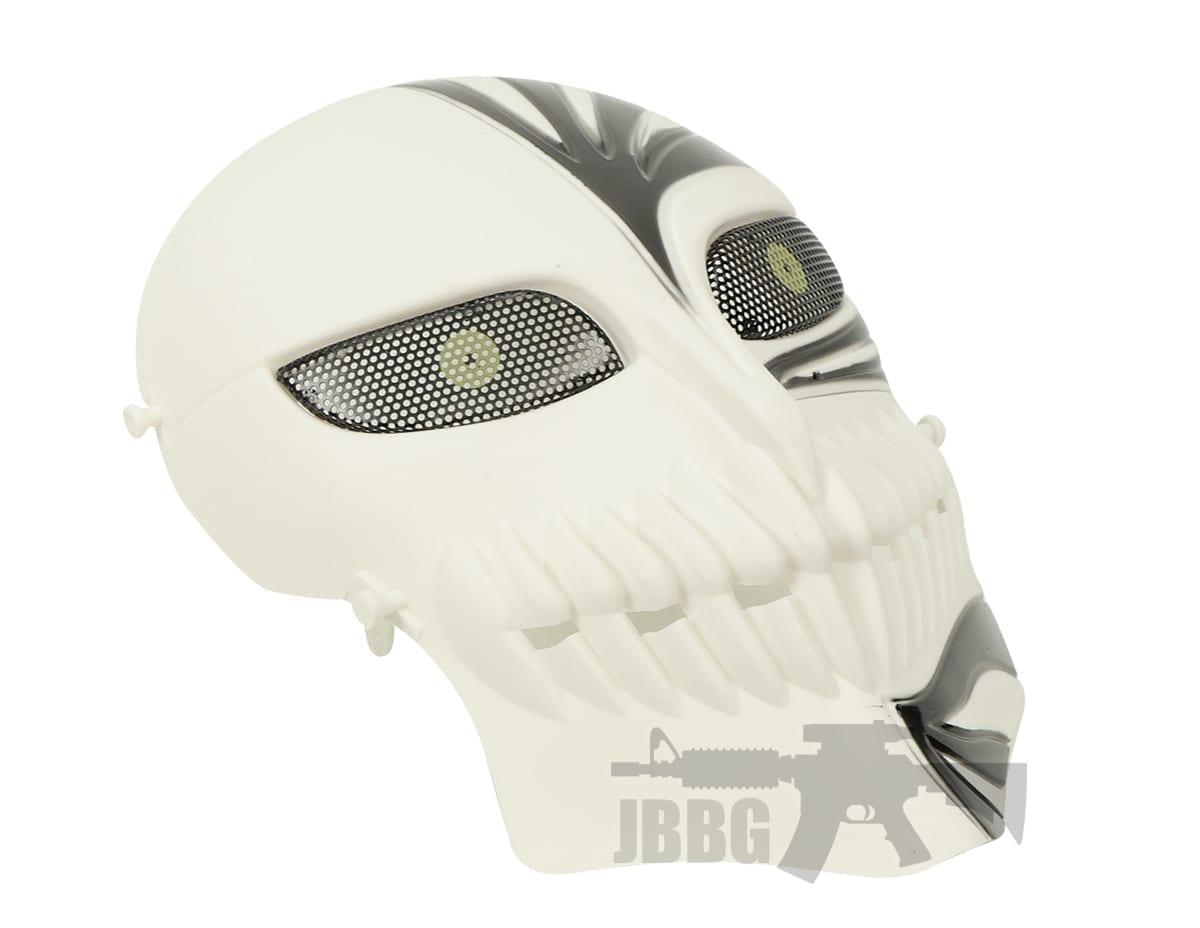 Invader Mask Black and White