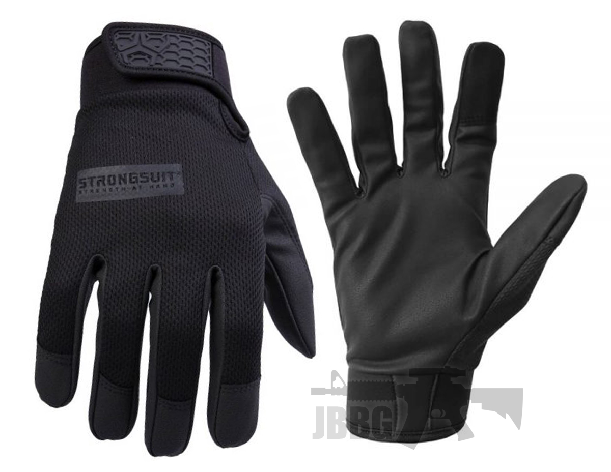 Second Skin Black Tactical Gloves
