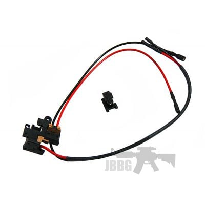 High Temperature Switch Assembly Front-Rear
