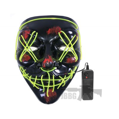 LED Purge Mask Green X