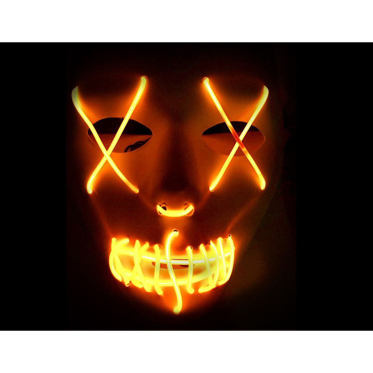 LED Purge White Mask with Blue X (Copy)