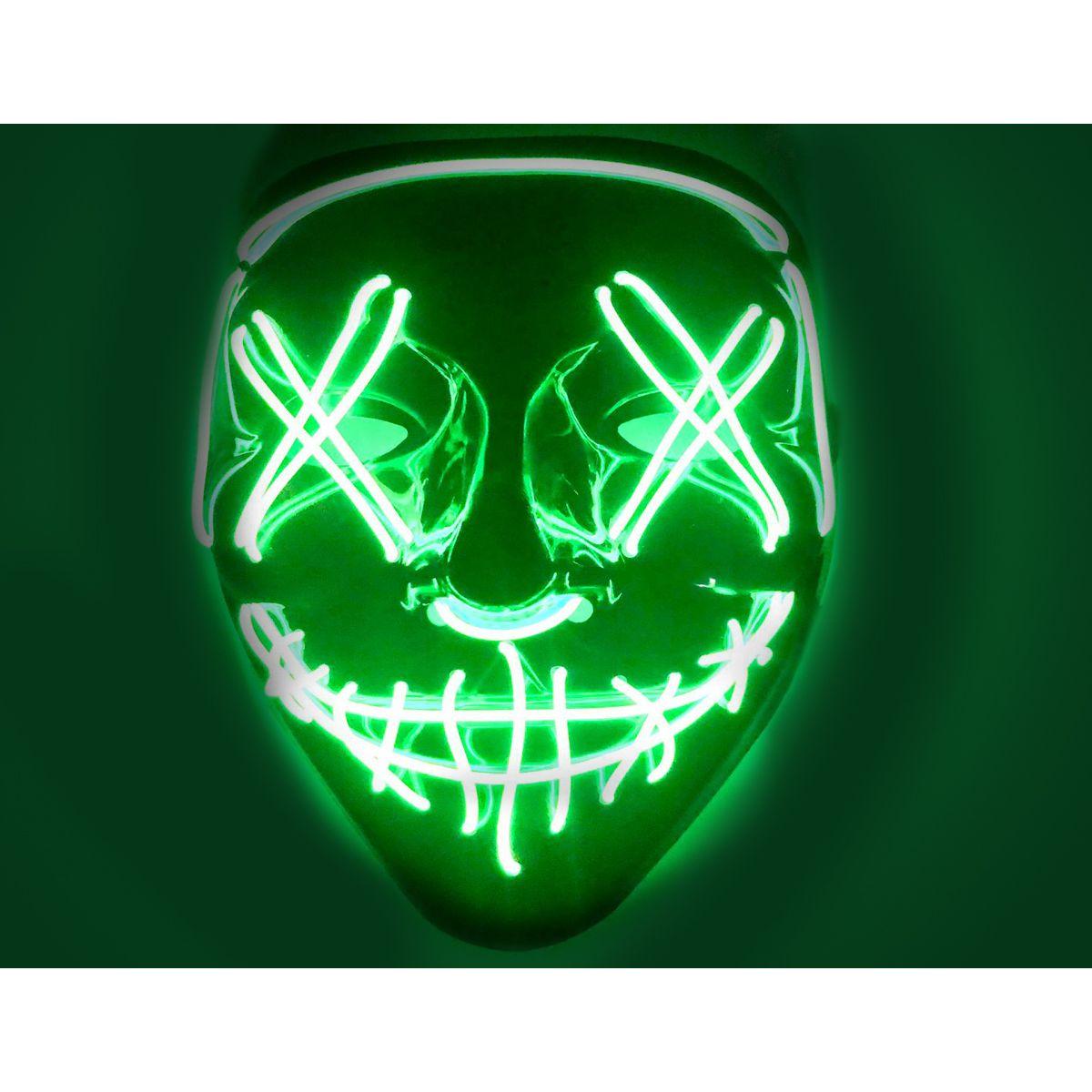 LED Purge Mask Green X
