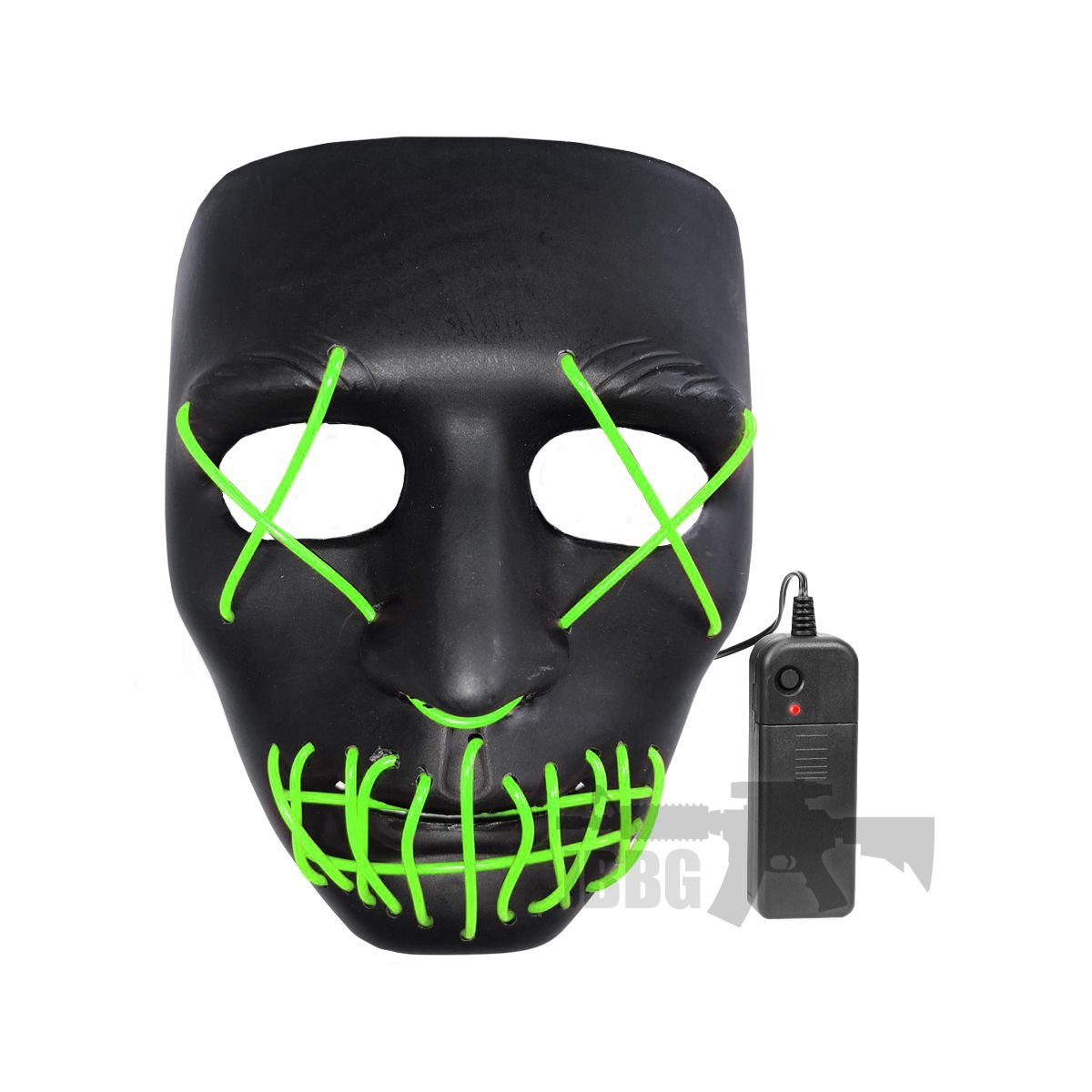 LED Purge Mask Black with Red X (Copy)