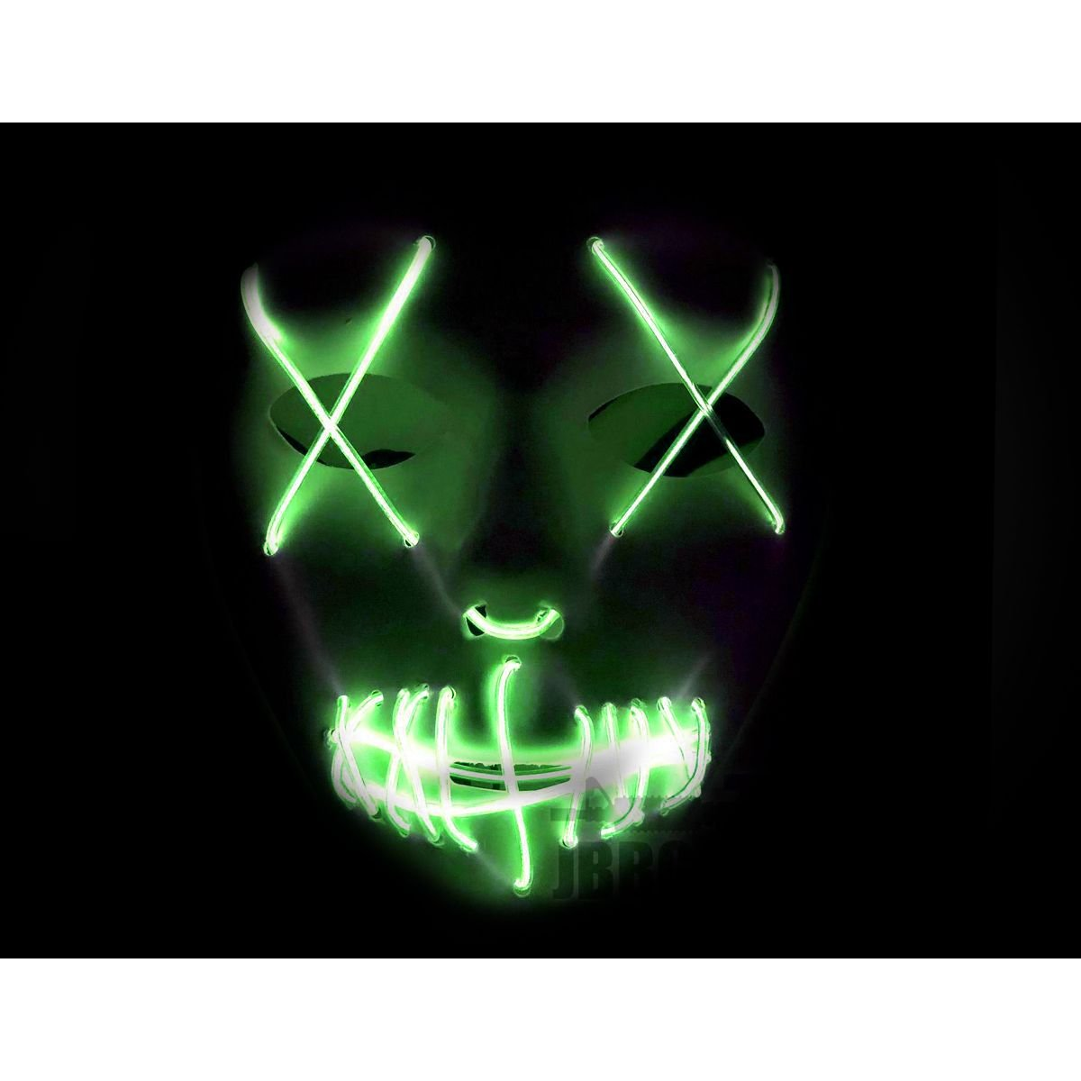 LED Purge White Mask with Yellow X (Copy)