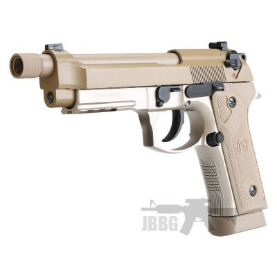 KL M92 TD Co2 Blowback Air Pistol with Threaded Barrel