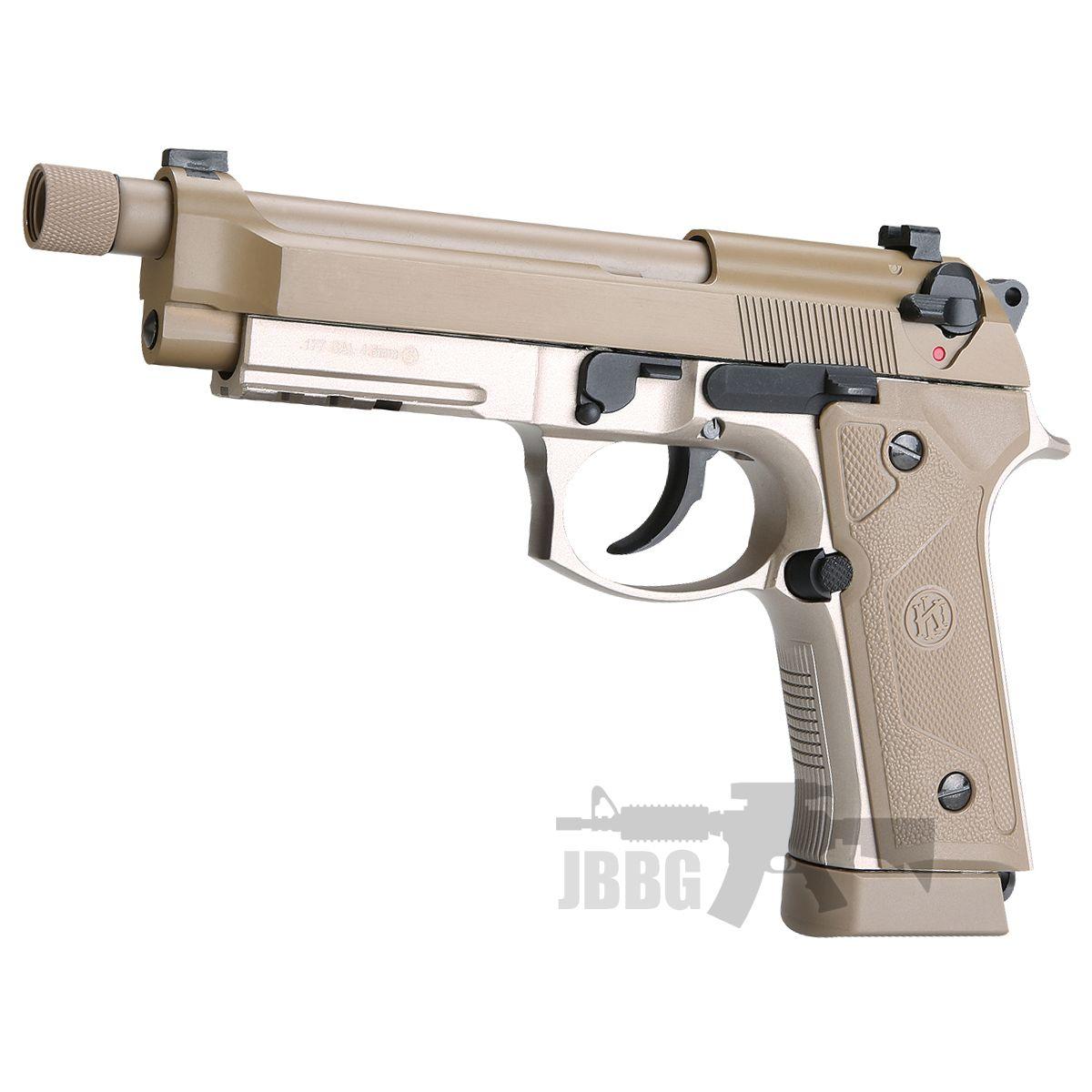 KL M92 TD Co2 Blowback Air Pistol with Threaded Barrel