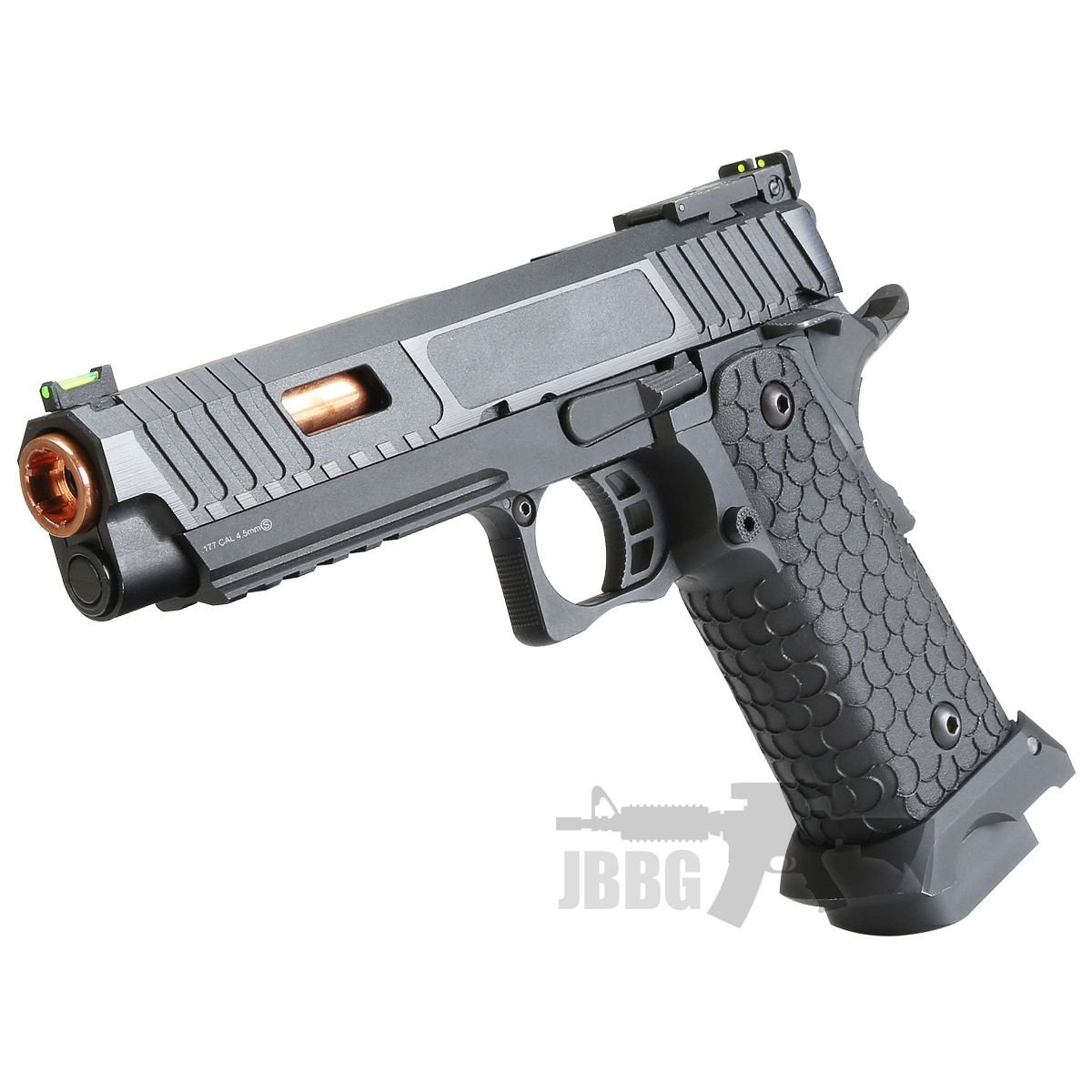 Baba Yaga Combat Master Hi-Capa Co2 Blowback Air Pistol