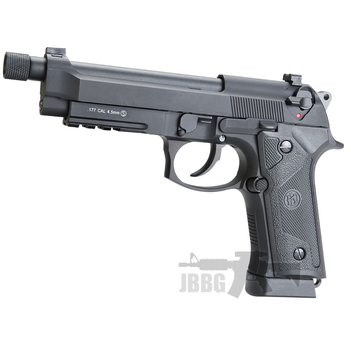 KL M92 Co2 Blowback Air Pistol with Threaded Barrel