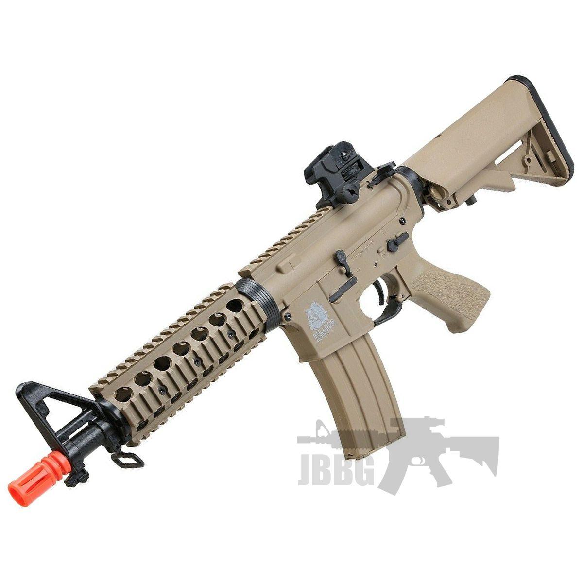 Bulldog M4PI RIS CQB Tan Airsoft Electric Rifle Gun