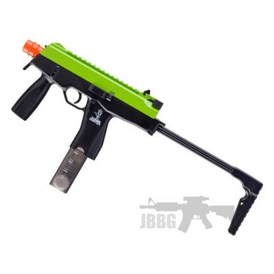 Zombie Hunter Eliminator Green Slide Black Airsoft Gun