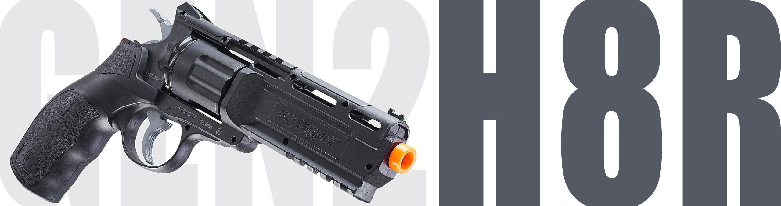 Elite Force by Umarex H8R Gen2 CO2 Powered Airsoft Revolver