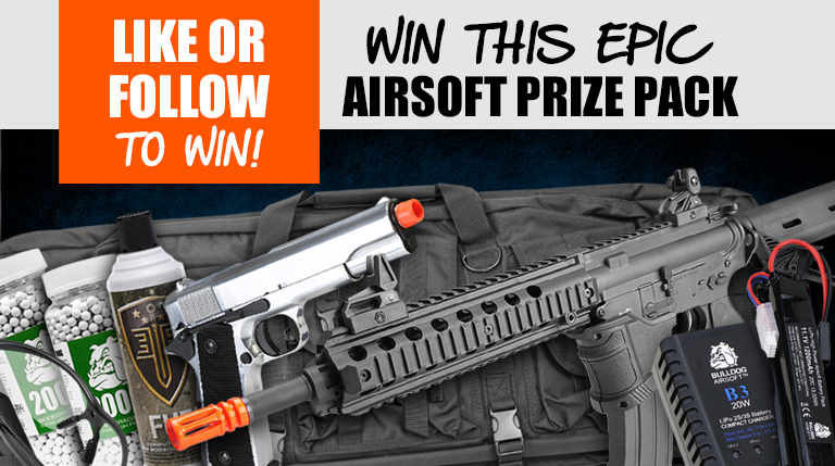 Win Our Epic Airsoft Prize Pack – Free To Enter