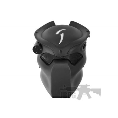 predator Laser Mask Black