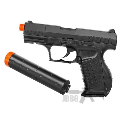HA-124 Spring Airsoft Pistol with Silencer