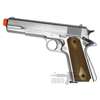 HG121 Airsoft Gas Pistol Silver